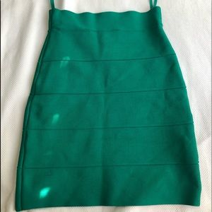 BCBGMaxAzria Skirts - bcbgmaxazria green skirt